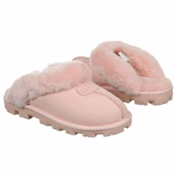 6b56bdd0782 Pink UGG Coquette Slippers